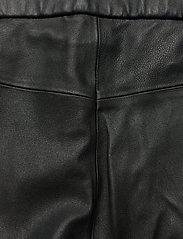 Day Birger et Mikkelsen - Day Doguna - læderbukser - black - 4