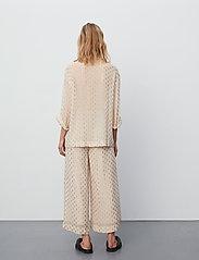Day Birger et Mikkelsen - Day Lady - bukser med brede ben - ivory shade - 3