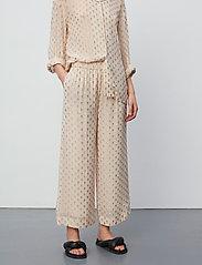 Day Birger et Mikkelsen - Day Lady - bukser med brede ben - ivory shade - 4