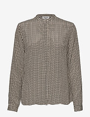 Day Birger et Mikkelsen - Day Cab - long sleeved blouses - black - 0