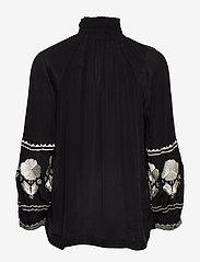 Day Birger et Mikkelsen - Day Crocus Solid - long sleeved blouses - black - 1