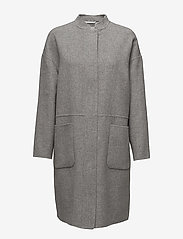 Day Birger et Mikkelsen - Day In Time - wool coats - medium grey mel. - 0