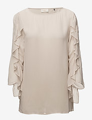 Day Birger et Mikkelsen - Day Rose - long sleeved blouses - hazy grey - 0