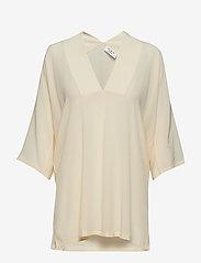 Day Birger et Mikkelsen - Day Fan - short-sleeved blouses - butter - 0