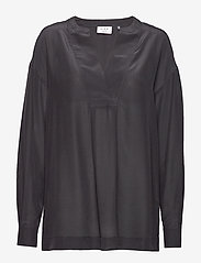 Day Birger et Mikkelsen - Day Fan - long sleeved blouses - black - 0