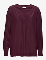 Day Birger et Mikkelsen - Day Fan - long sleeved blouses - winetasting - 0