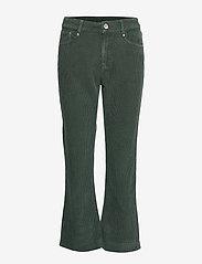 Day Birger et Mikkelsen - Day Kadife - wide leg trousers - envy green - 0