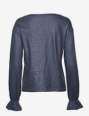 Day Birger et Mikkelsen - Day Again - long sleeved blouses - navy blazer - 1