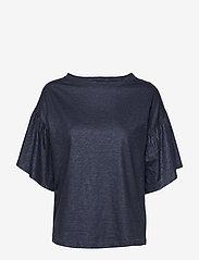 Day Birger et Mikkelsen - Day Again - t-shirts - navy blazer - 0
