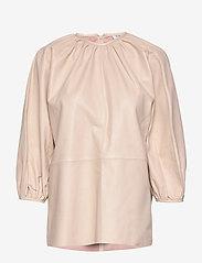 Day Birger et Mikkelsen - Day Porto - long sleeved blouses - smoke - 0