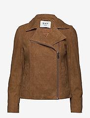 Day Birger et Mikkelsen - Day Harbour - leather jackets - topaz - 0