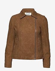 Day Birger et Mikkelsen - Day Harbour - leather jackets - topaz - 1