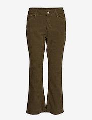 Day Birger et Mikkelsen - Day Kadife - wide leg trousers - forest - 0