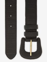 Day Birger et Mikkelsen - DAY Croco Belt - riemen - black - 1