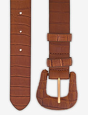 Day Birger et Mikkelsen - DAY Croco Belt - bælter - caramello - 1