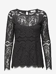 Day Birger et Mikkelsen - Day Twillight - long sleeved blouses - asphalt - 0