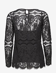 Day Birger et Mikkelsen - Day Twillight - long sleeved blouses - asphalt - 1