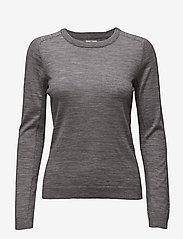 Day Birger et Mikkelsen - DAY Whitney - trøjer - medium grey mel. - 0