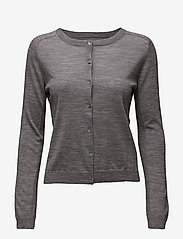 Day Birger et Mikkelsen - DAY Whitney - cardigans - medium grey mel. - 0