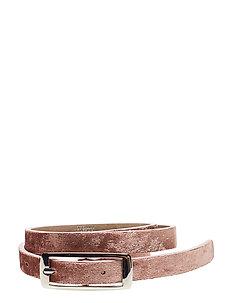Day Waist  Belt Velvet - LIGHT ROSE