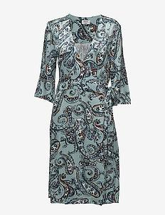 Day Neela Paisley - robes portefeuille - neela