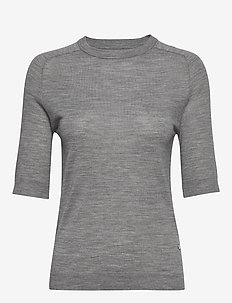 DAY Whitney - basic t-shirts - medium grey mel.