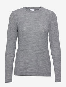 Jacobe - Light Wool - langärmlige tops - dark grey melange