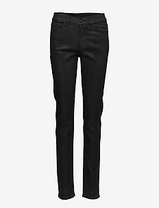 Day Square Black - straight jeans - black denim