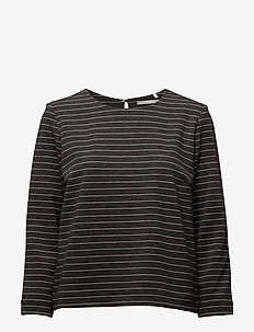 Day Always - long-sleeved tops - caviar