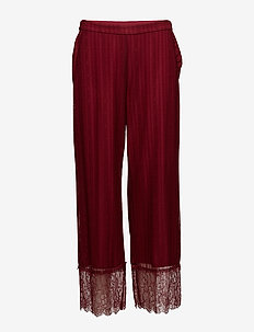 Day Believer - wide leg trousers - plume