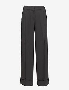 Day Classic Gabardine - bukser med brede ben - black