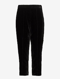 Day Tactile - wide leg trousers - black