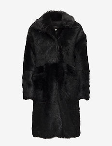 Day Achieve - faux fur - black