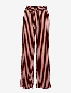 Day Intense - wide leg trousers - umber