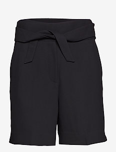 Day Classic Gabardine - paper bag shorts - black