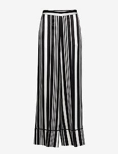 Day Trillium - wide leg trousers - black