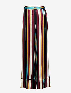 Day Trillium - wide leg trousers - fig