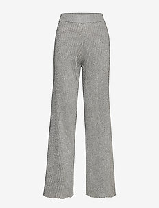 Day Admire - wide leg trousers - silver