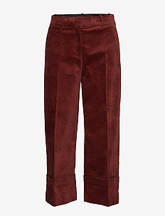 Day To Go - wide leg trousers - puce