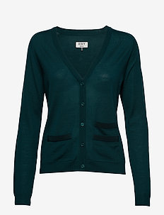 Day Whitney - cardigans - teal