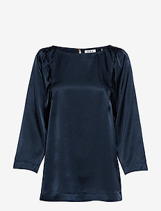 Day Yasam - long sleeved blouses - sky captain