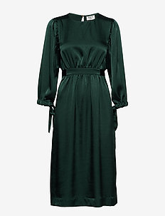 Day Yasam - midi dresses - envy green