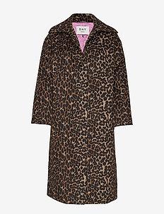 Day Ceket - manteaux en laine - figue