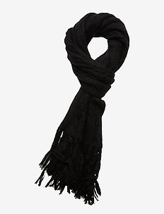 Day Spry Scarf - Écharpes - black