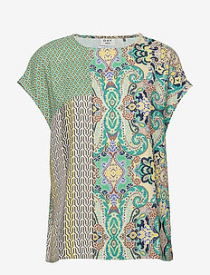 DAY Coast - short-sleeved blouses - menta