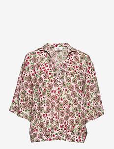 Day Fiore - short-sleeved blouses - smoke