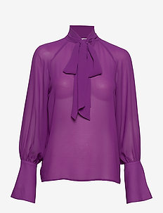 Day Surf - long sleeved blouses - iris
