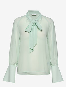 Day Surf - long sleeved blouses - sapphire
