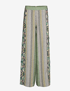 DAY Coast - wide leg trousers - menta