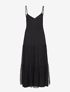 Day Cascata - midi dresses - black